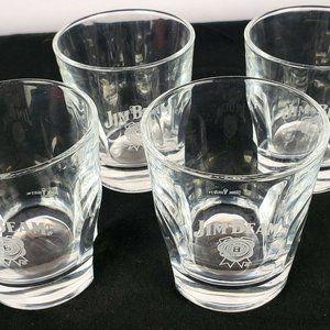 Jim Beam Rocks Glass Set of Four
